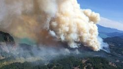 B.C. Wildfire Grows 13 Times In Size In Just