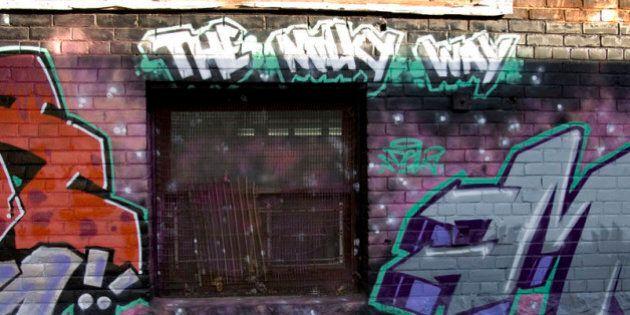 Parkdale, Toronto alleywayPentax *istDS