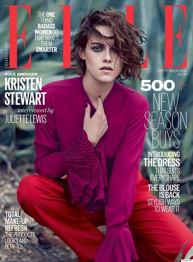 Kristen Stewart Goes Into The Woods For Elle UK's September