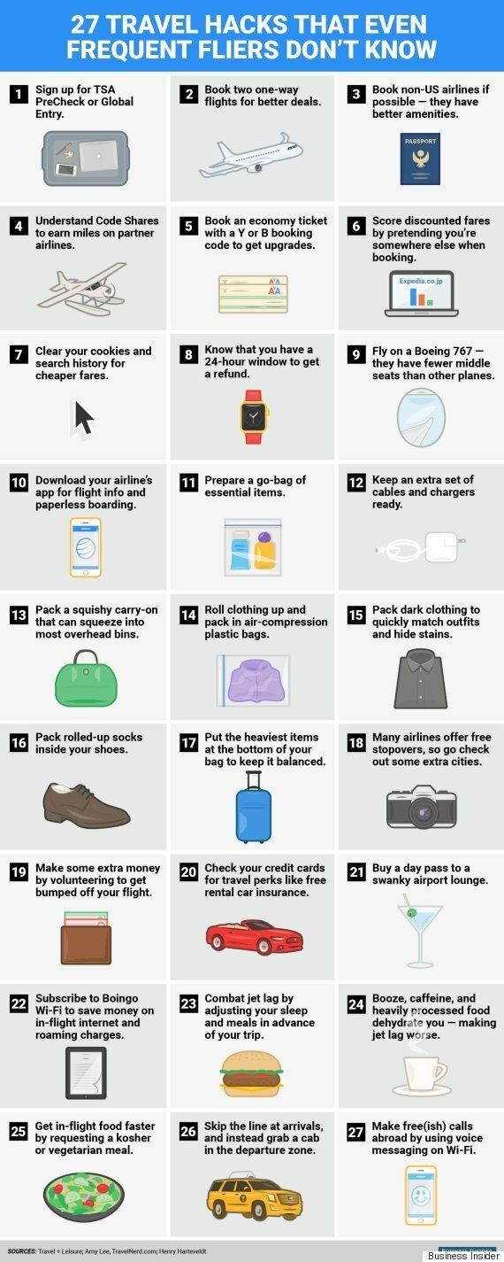 27 Travel Hacks That Will Make You Want To Go On Vacation