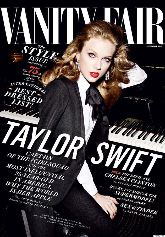 Taylor Swift, Captain Of The #GirlSquad, Covers Vanity Fair's September