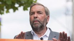 Mulcair Launches 'Campaign For