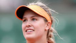 Eugenie Advances To Quarter-Finals At French