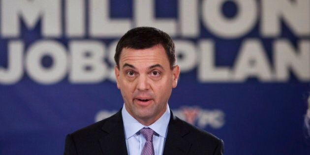 Ontario Election 2014: Liberals Say Hudak Copied Ideas From U.S.