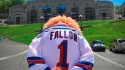 Sad Habs Mascot Settles Jimmy Fallon