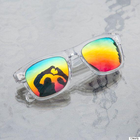 Vancouver Pride Rainbow Sunglasses Help LGBT