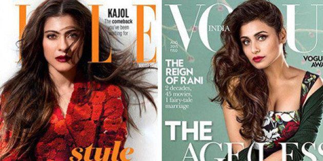 Kajol Covers Elle India, Rani Mukerji Covers Vogue India, This Is One Good Fashion