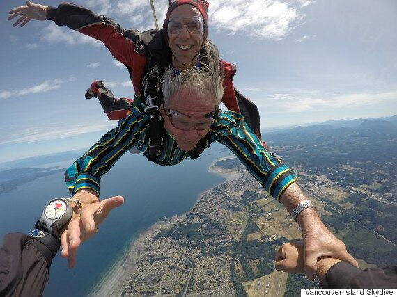 Frank Webb Fulfils Decades-Old Skydiving Dream For 86th