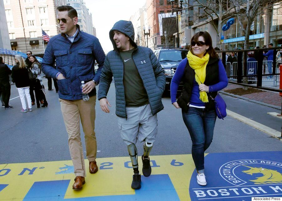 Boston Marathon Survivors Return To The Race, 3 Years After