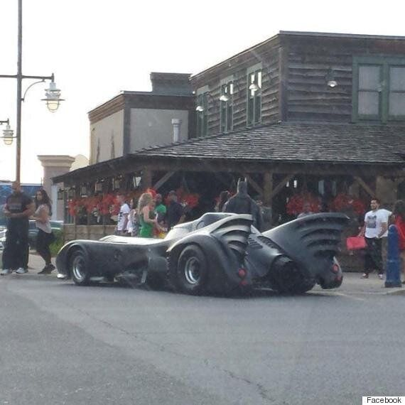 Brampton Batman's Batmobile Trouble Halts Traffic On Ontario's Highway
