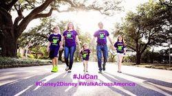 Family Walks 6,000 Km To Disney World In Daughter's
