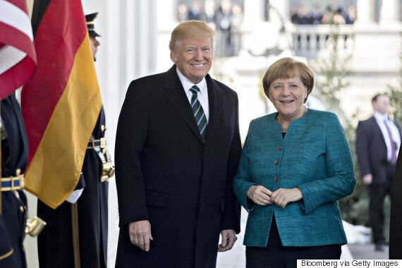 Merkel Read Trump's Playboy Interview To Prepare For Meeting With U.S.