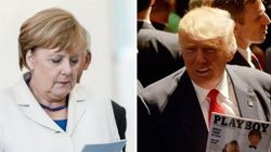 Merkel Delves Deep Into Trump's Playboy Interview Ahead Of
