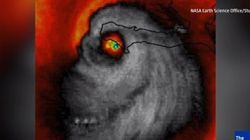 Hurricane Looks Like A Skull In Creepy Satellite