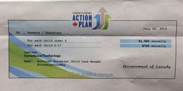 Universal Child Care Benefit Money Prompts Surge Of CRA