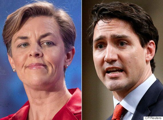 Justin Trudeau Cites Kellie Leitch When Asked Why He Ditched Electoral