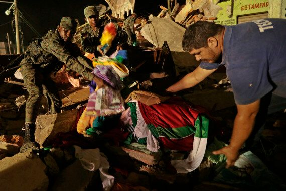 Ecuador Earthquake: Rescuers Racing To Find