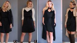 1 Little Black Dress, 4 Ways For