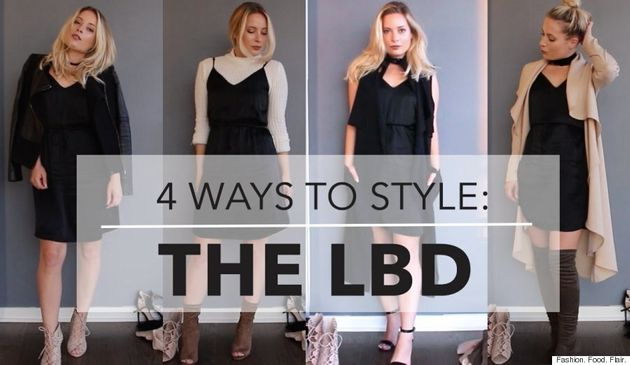 Little Black Dress: 4 Ways To Style Your LBD For