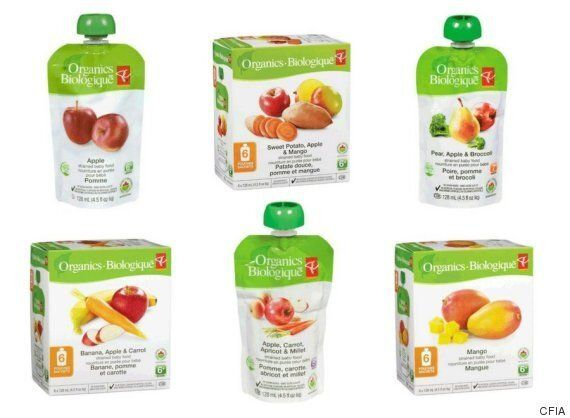 RECALL ON PC BABY FOOD