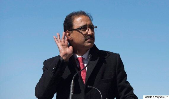 Amarjeet Sohi's Claim About Infrastructure Projects Contains 'A Little