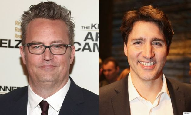 10-Year-Old Matthew Perry Beat Up Justin Trudeau Out Of 'Pure