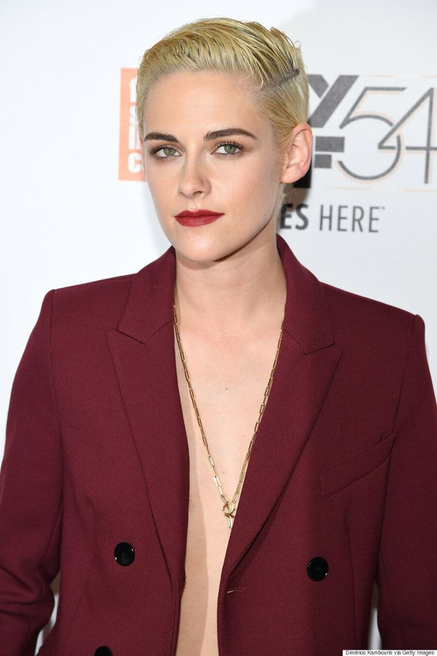 Kristen Stewart Leaves Bra At Home For 'Certain Women'