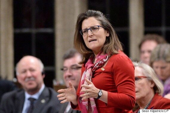Chrystia Freeland Billed Taxpayers For Hollywood 'Vanity' Trip, Tories
