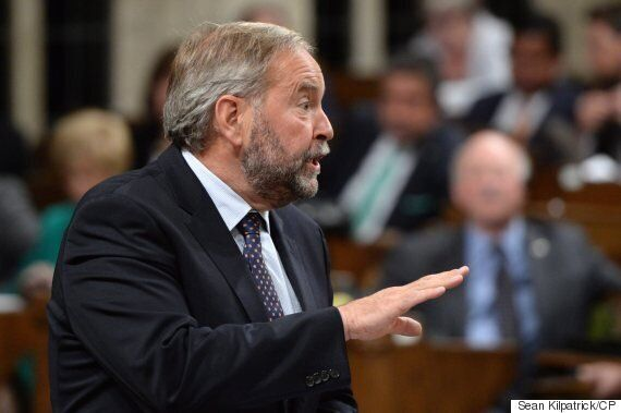 Mulcair Asks Trudeau To Deny He's Using Harper's Climate
