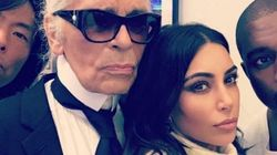 Karl Lagerfeld Scolds Kim Kardashian For Being Too Flashy With