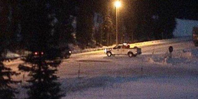 Avalanche Closes Highway 1 In Yoho Near B.C.-Alberta
