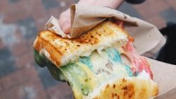 Grilled Cheese Gets A Colourful
