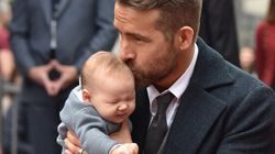 Ryan Reynolds Shares Proud Dad Moment, And Of Course It's