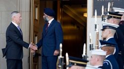Sajjan Hints At New Military Funding After Meeting U.S.