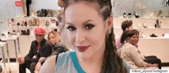 Alyssa Milano Debuted Cornrows And The Internet Went