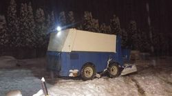 B.C. Driver Pulled Over For Trying To Clear Snow In
