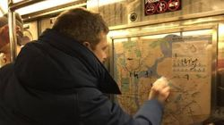 NYC Subway Strangers Come Together To Erase