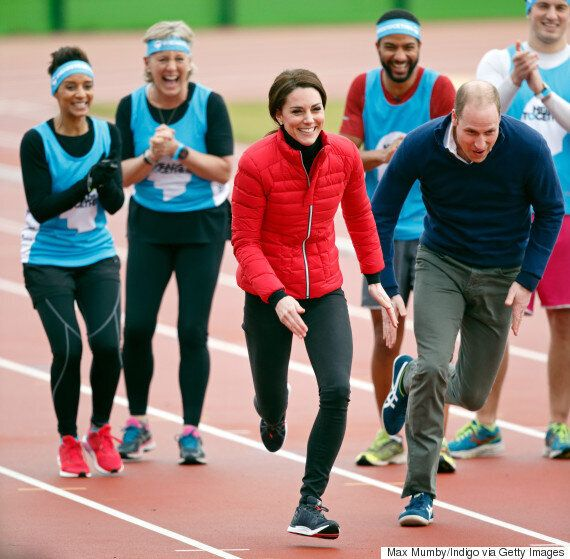 Prince Harry, Will And Kate Compete In Charity