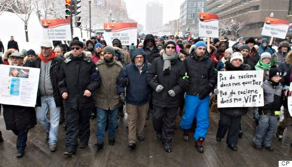 Quebec City Mosque March For 'Peace And Unity' Draws
