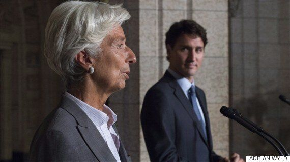 IMF Downgrades Canadian Economic Outlook From