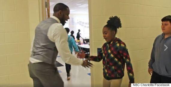 Teacher Barry White Jr. Creates Unique Handshakes With Each Of His