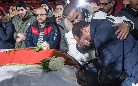 Quebec Mosque Attack: Funeral For 3 Victims Of Deadly Shooting Held In Montreal