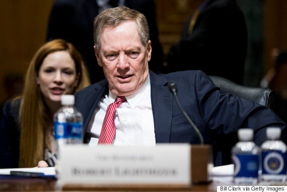 Robert Lighthizer, Trump's Pick For Trade Secretary, Urged To Get Tough With