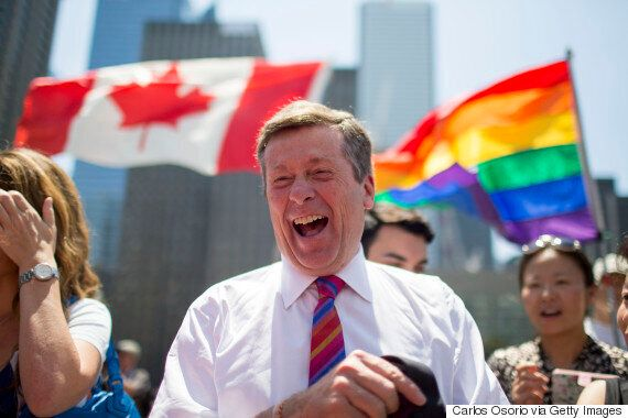 John Tory And Other Toronto Big Shots Are My Famous