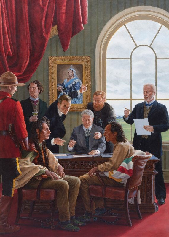 Kent Monkman Walks Canada Back Through Time With 'Shame And Prejudice: A Story Of