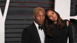 Pharrell And Wife Helen Lasichanh Welcome
