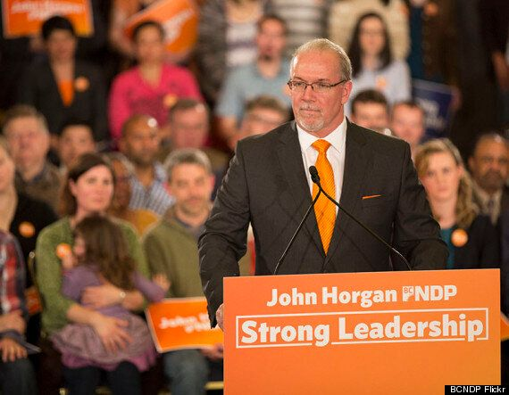 John Horgan Is B.C. Premier Christy Clark's Polar
