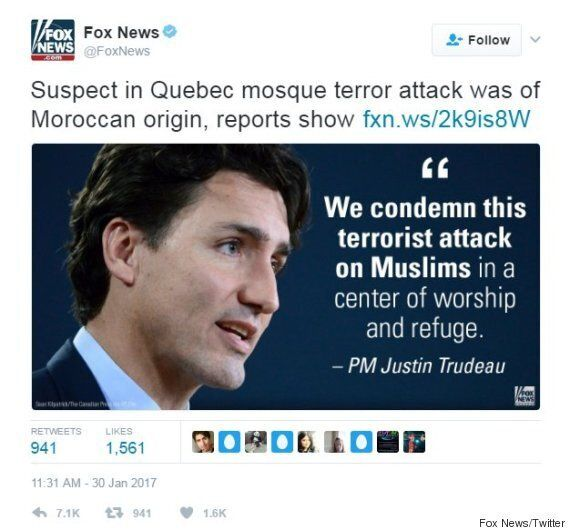 Trudeau Has Better Things To Do Than Complain To Fox News: