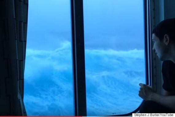 Footage From Royal Caribbean Cruise Captures Terrifying Encounter With Hurricane-Force