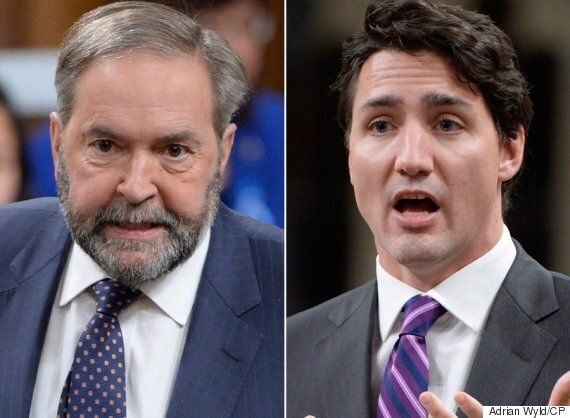 Mulcair Pushes Trudeau To Stand Up Against Trump's 'Racism And